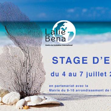 Stage été Lalie Bena à Marseille