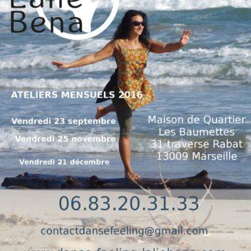 Ateliers Danse et Gym Feeling à Marseille